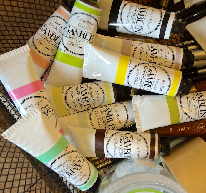 Buying oil paints