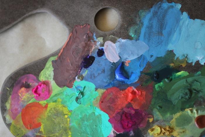 PG paint palette