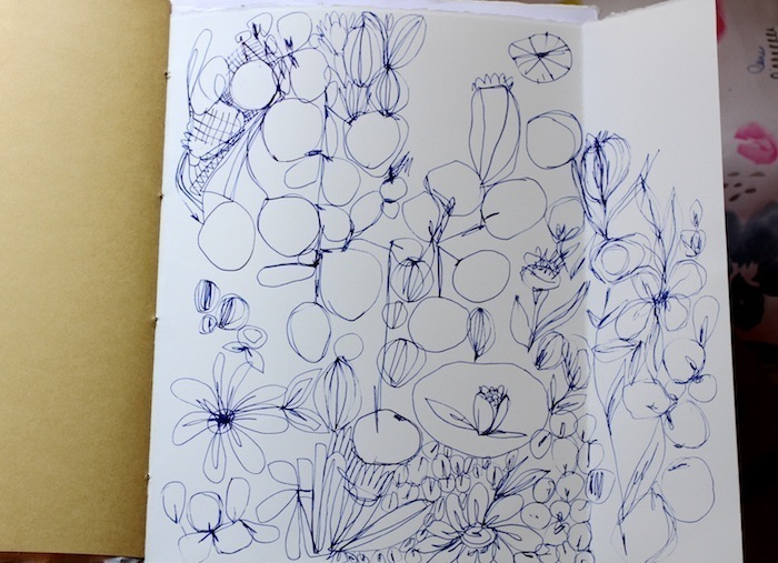 Pam Garrison art journal 4