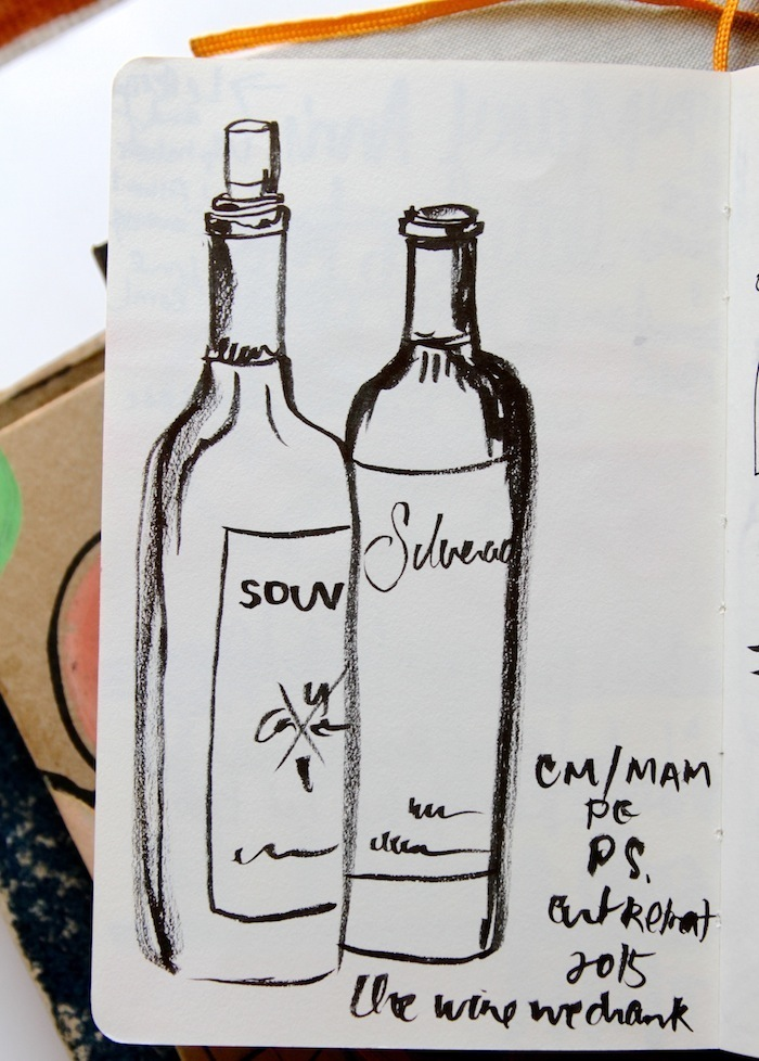 Pam Garrison sketchbook 13