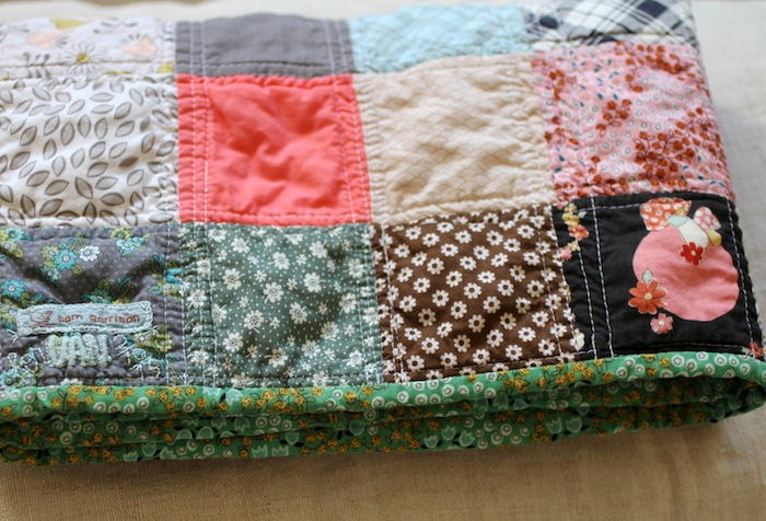 PG baby quilt 11