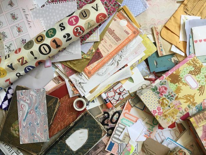 Travel journal supplies