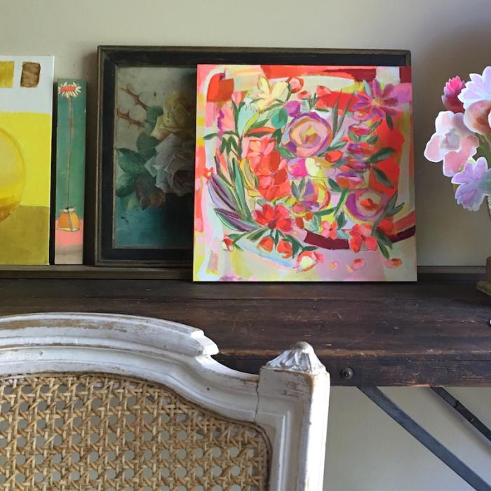 Pam Garrison  painting