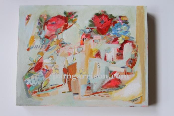Pamel Garrison painting