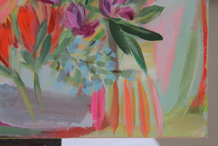Everyday Cheer Pam Garrison floral painting 2