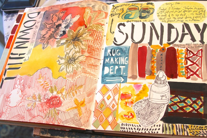 Mary ann moss art journal