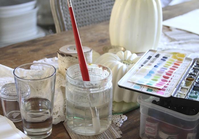 Pam garrison watercoloring 5