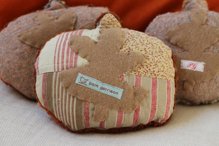 Pam Garrison hooked pumpkins 4
