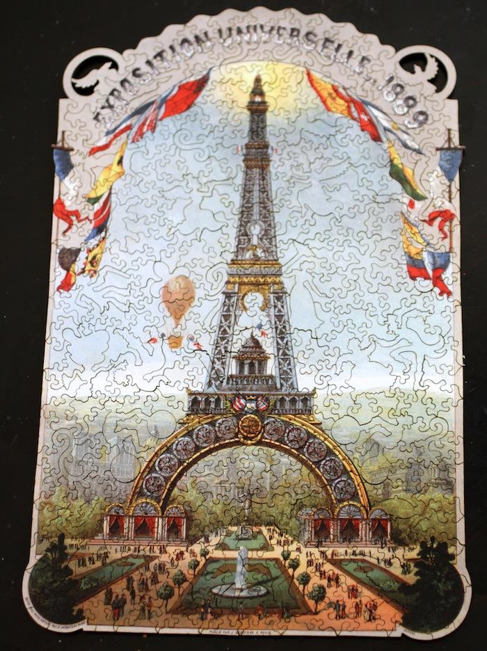 Liberty puzzle box