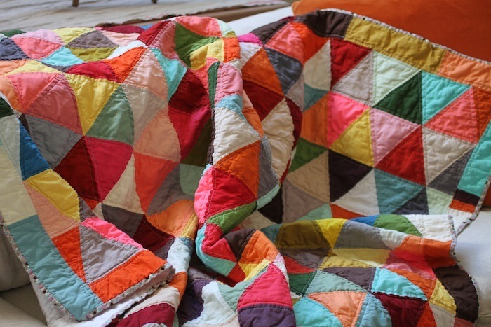 PG first triangle quilt 1