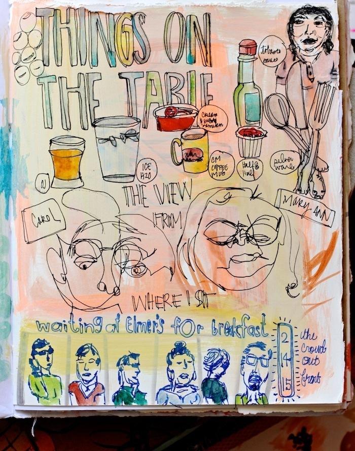 Pam Garrison sketchbook 9