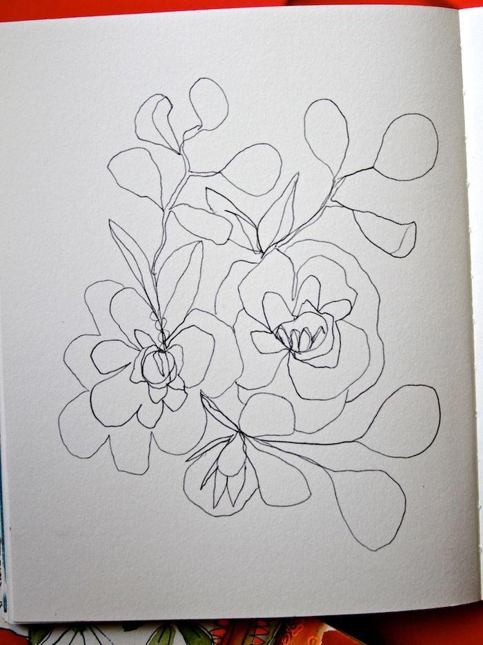 Creative sketchbooking wk1 4c PG