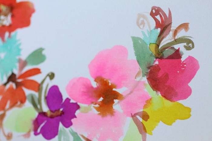 Painting petals_pam garrison