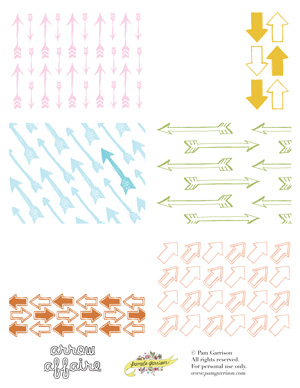 Arrow Affaire Printable PDF