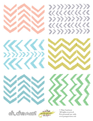 Oh, Chevron! Printable PDF