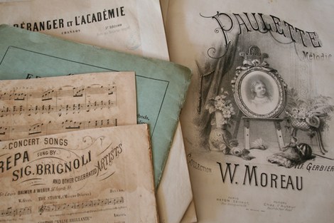 French_music_paper